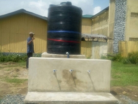 CRUTECH Alumni Donate Borehole To Students. By Peter Inyali